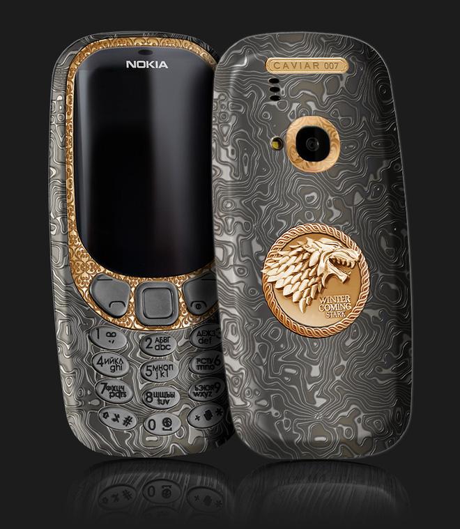 Fan của Game of Thrones chắc chắn sẽ mê chiếc iPhone 7 và Nokia 3310 này cho xem - Ảnh 2.