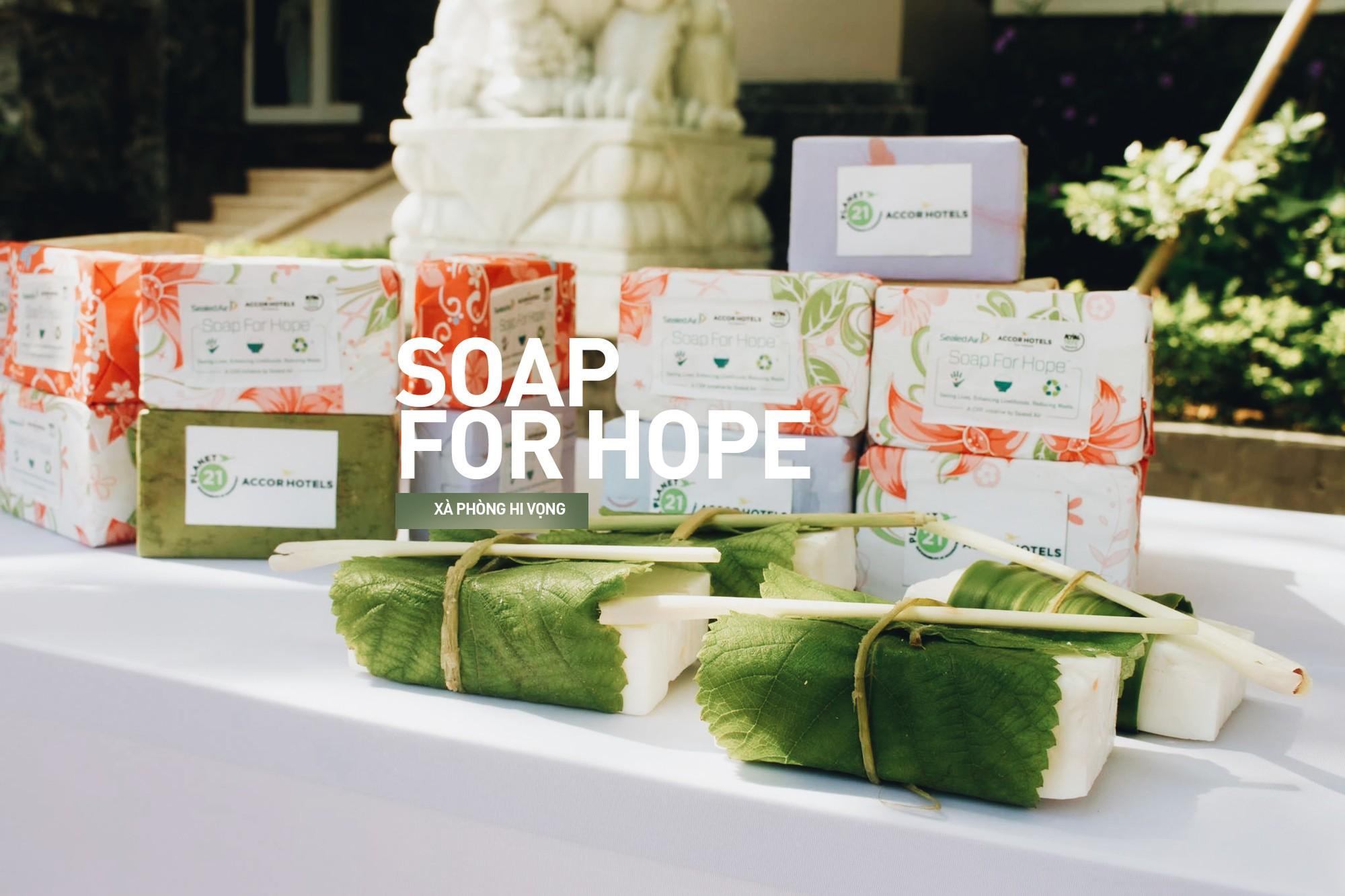 Soap for Hope: Những bánh xà phòng vì cộng đồng, dự án lan toả niềm tích cực - Ảnh 5.