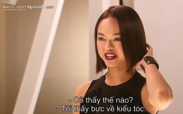 Cô gái gân cổ cãi tay đôi với Minh Tú tại Next Top châu Á là ai? - Ảnh 6.