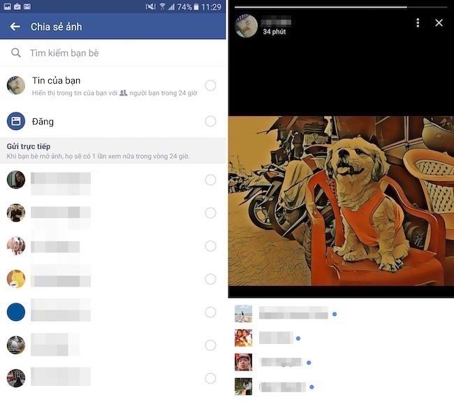 Facebook bổ sung tính năng Story giống Instagram và Snapchat, teen Việt rần rần thử nghiệm - Ảnh 6.