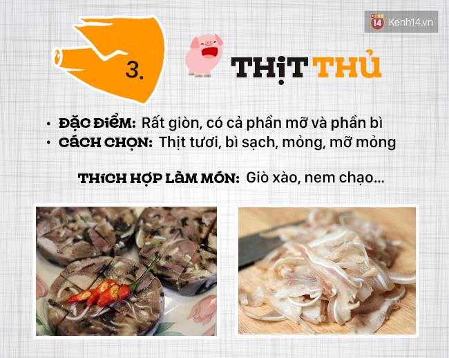 Ngày nào cũng ăn thịt lợn thì phải biết chọn đúng phần thịt cho từng món - Ảnh 4.