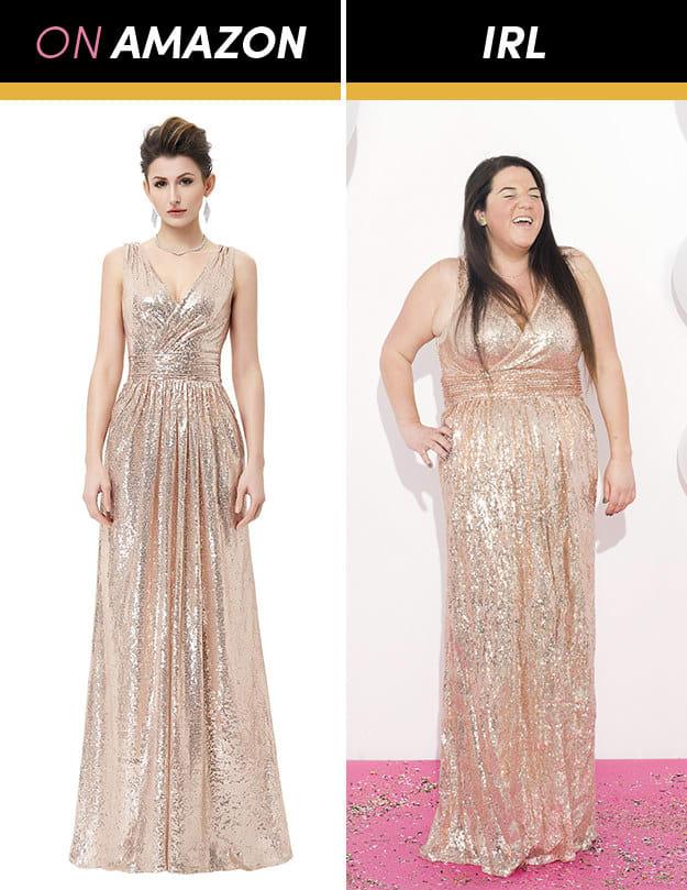 Những cô gái này đặt mua váy dạ hội giá chỉ vài trăm nghìn trên Amazon và kết quả bất ngờ-6