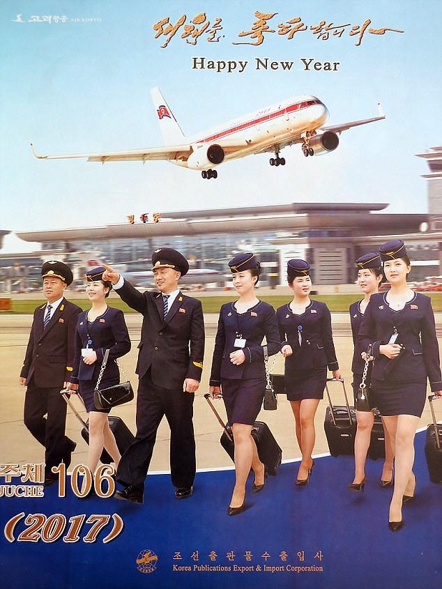 Những hình ảnh không ngờ tới về vẻ ngoài xinh đẹp của nữ tiếp viên hàng không Triều Tiên - Ảnh 1.