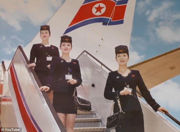 Những hình ảnh không ngờ tới về vẻ ngoài xinh đẹp của nữ tiếp viên hàng không Triều Tiên - Ảnh 5.