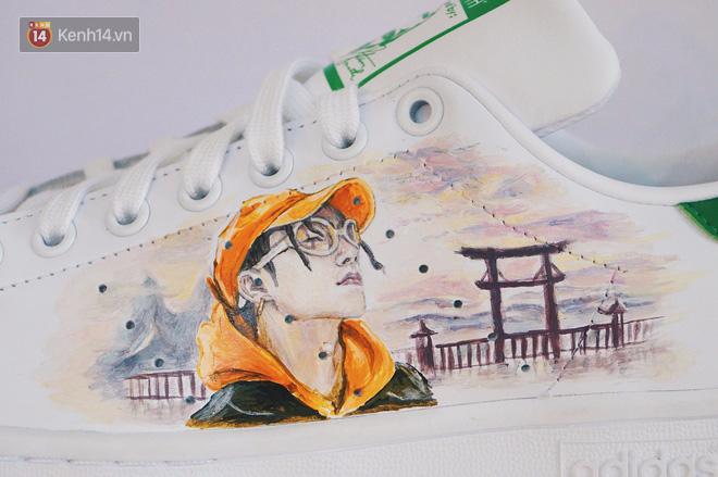 Đôi sneaker mà Sky nào cũng thèm muốn: adidas Stan Smith độ Sơn Tùng M-TP - Ảnh 6.