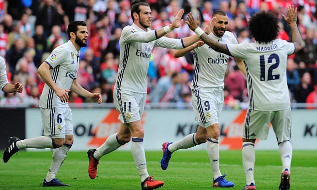 Ronaldo lập cú đúp kiến tạo, Real nhọc nhằn khuất phục Bilbao - Ảnh 3.