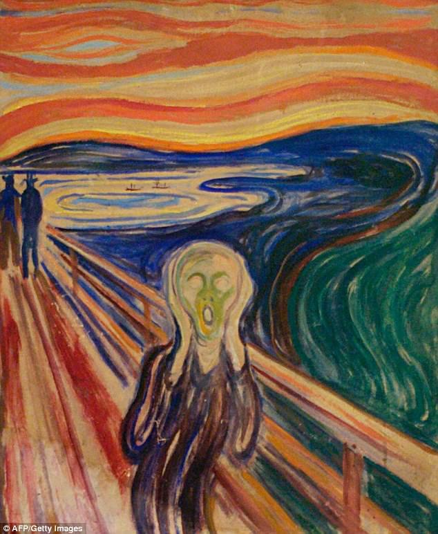 Giải mã hiện tượng cực hiếm đằng sau tuyệt tác nghệ thuật Tiếng hét - Ảnh 1.