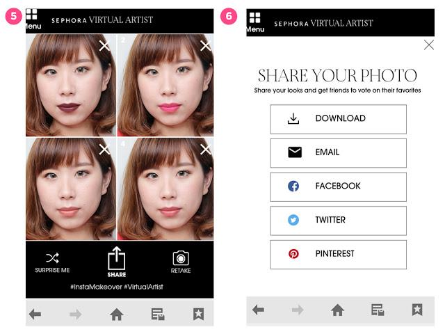 Các nàng không còn lo mua phải màu son lệch tông với app thử màu son cực hay ho này - Ảnh 3.