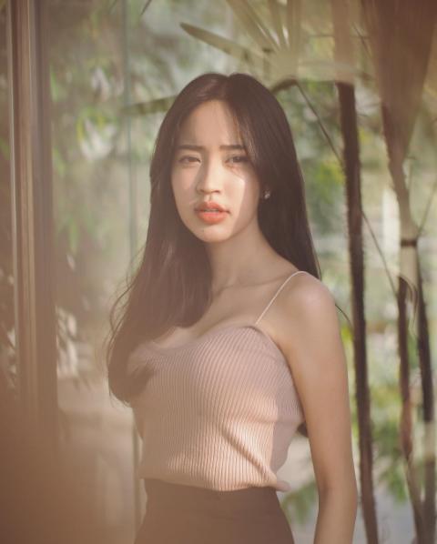 Vẻ sexy hết biết của cô nàng Thái Lan đốn tim dân mạng - Ảnh 8.