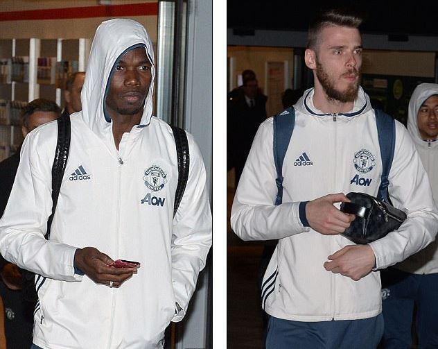 Dàn sao Man Utd mặt như đưa đám trở về Manchester, nhưng Mourinho đã ở đâu? - Ảnh 2.