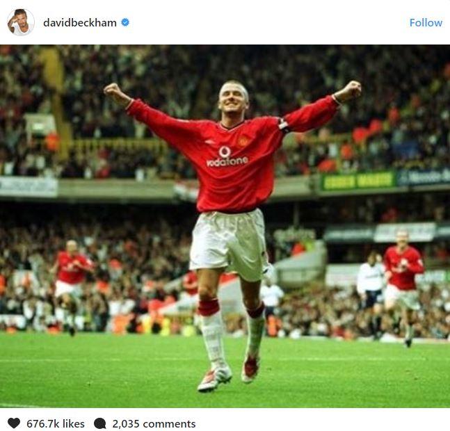 Beckham được khen đẳng cấp khi tri ân sân White Hart Lane - Ảnh 2.