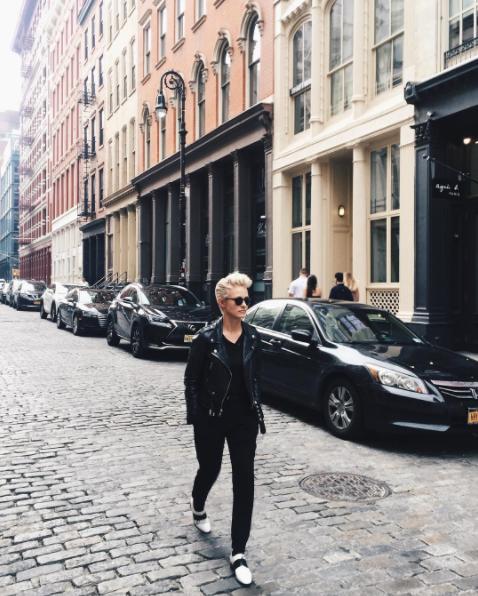 Vẻ ngoài không thể không mê của cô nàng tomboy hot nhất nhì Instagram - Ảnh 3.