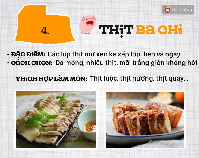 Ngày nào cũng ăn thịt lợn thì phải biết chọn đúng phần thịt cho từng món - Ảnh 5.