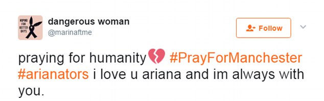 Miley Cyrus và fan khắp thế giới cầu nguyện cho Ariana Grande vượt qua khủng hoảng - Ảnh 6.