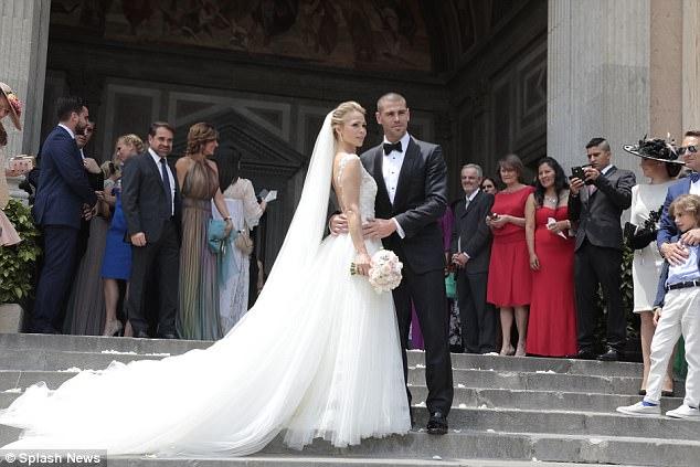 Hè 2017, mùa cưới của các sao bóng đá - ảnh 5