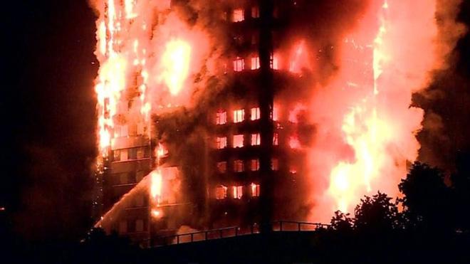Vụ cháy kinh hoàng tại chung cư 27 tầng