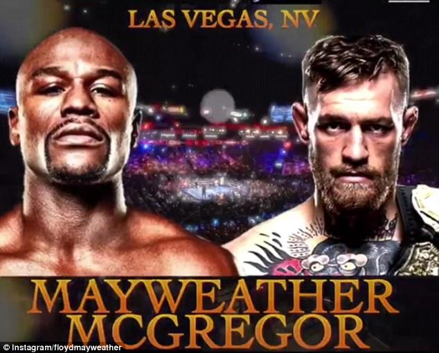 Ấn định ngày Độc cô cầu bại Mayweather thượng đài với McGregor - Ảnh 1.