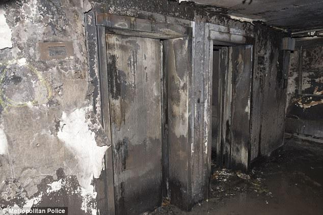 Hình ảnh các vật dụng bên trong tòa chung cư ở London biến dạng, cháy đen thành tro - Ảnh 2