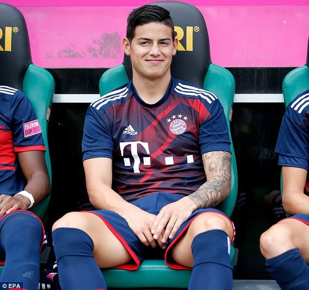 Tân binh James Rodriguez giúp Bayern bảo vệ thành công Telekom Cup - Ảnh 4.