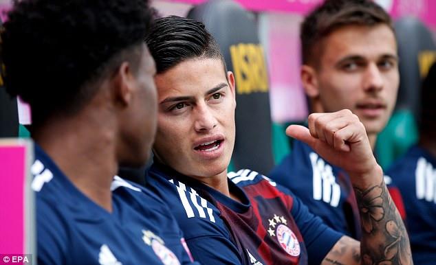 Tân binh James Rodriguez giúp Bayern bảo vệ thành công Telekom Cup - Ảnh 3.
