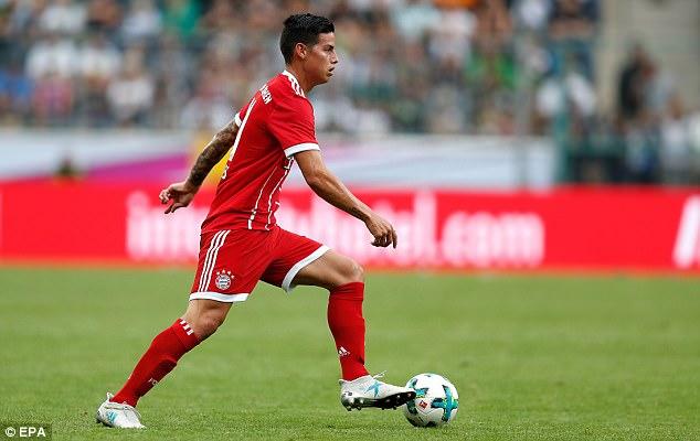 Tân binh James Rodriguez giúp Bayern bảo vệ thành công Telekom Cup - Ảnh 9.