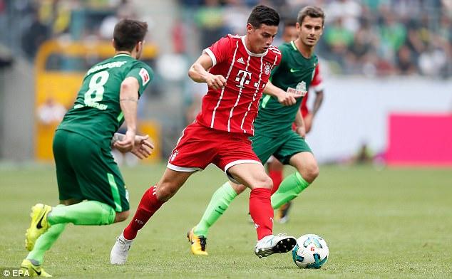 Tân binh James Rodriguez giúp Bayern bảo vệ thành công Telekom Cup - Ảnh 10.
