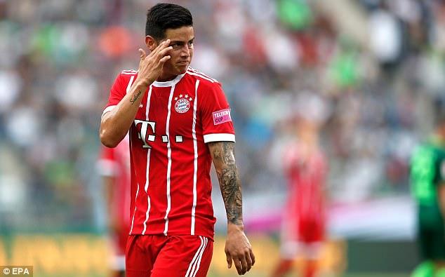 Tân binh James Rodriguez giúp Bayern bảo vệ thành công Telekom Cup - Ảnh 13.