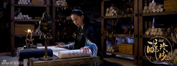 """Không thể nhận ra nổi Lưu Thi Thi vì đoàn phim """"Túy Linh Lung"""" dùng photoshop quá """"có tâm"""" - ảnh 5"""