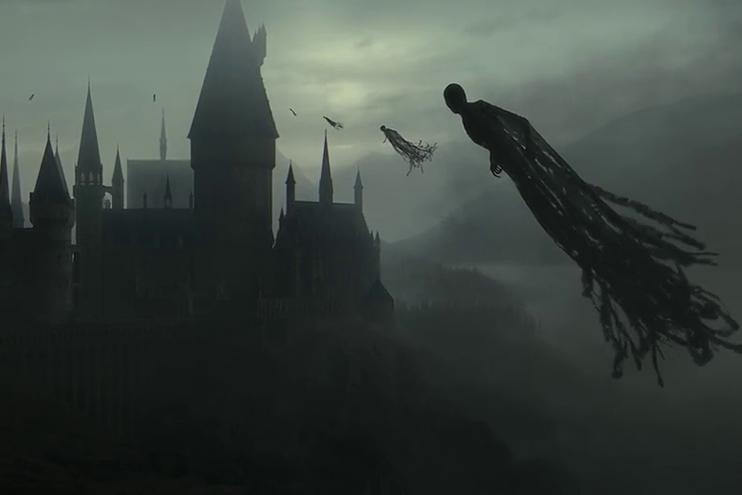 Hình ảnh giám ngục Azkaban trong phim luôn khiến khán giả sợ hãi.