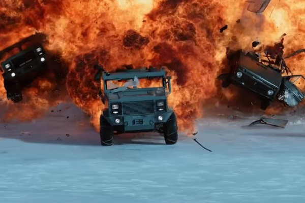 10 khoảnh khắc tuyệt vời nhất trong Fast and Furious 8 - ảnh 5