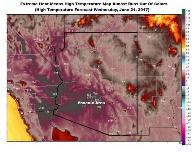 Mỹ: Nắng nóng 49 độ C, mọi vật đều tan chảy theo đúng nghĩa đen - Ảnh 9.