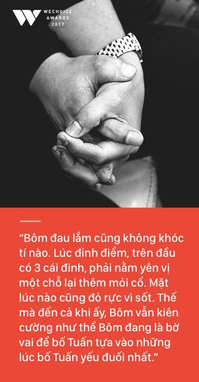 Bố Quốc Tuấn: Bôm biết chấp nhận tất cả và đồng hành với mọi cái một cách thoải mái, điều đó truyền nghị lực cho tôi - Ảnh 8.