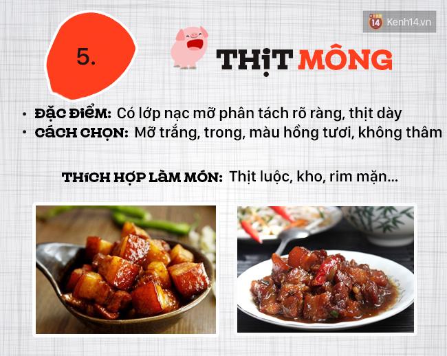 Ngày nào cũng ăn thịt lợn thì phải biết chọn đúng phần thịt cho từng món - Ảnh 6.