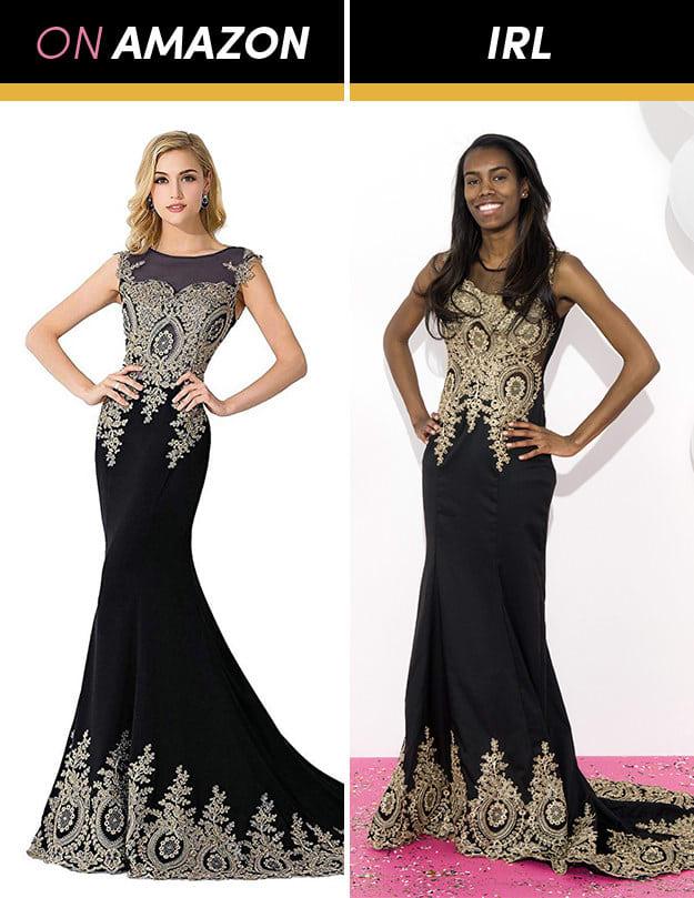 Những cô gái này đặt mua váy dạ hội giá chỉ vài trăm nghìn trên Amazon và kết quả bất ngờ-10
