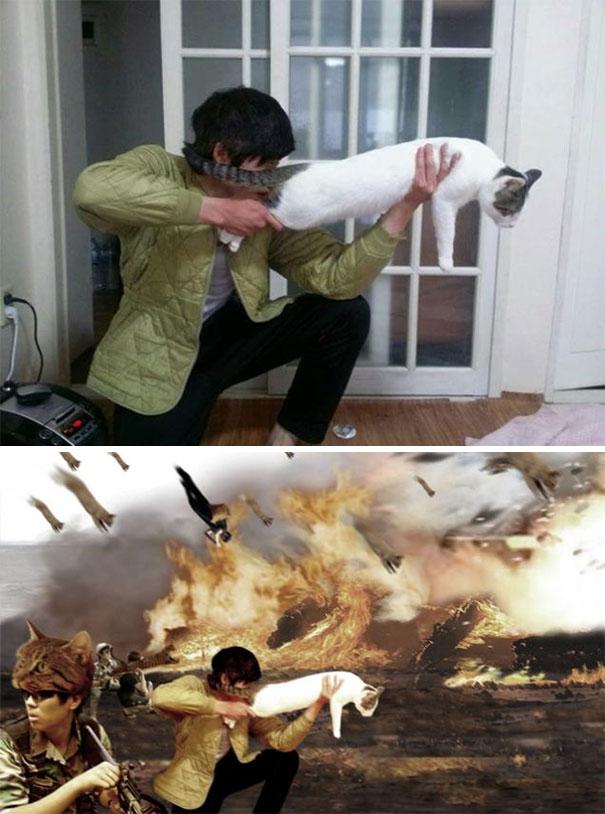 Các thánh photoshop Hàn Quốc ra tay hiệp nghĩa sửa ảnh hộ và cái kết bựa đừng hỏi - Ảnh 9.