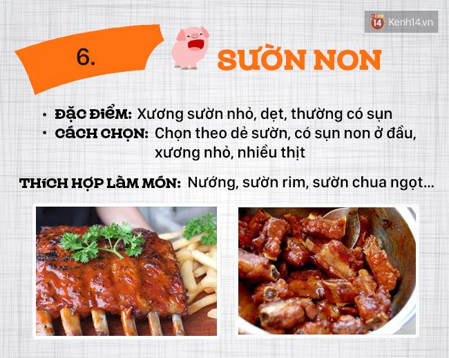 Ngày nào cũng ăn thịt lợn thì phải biết chọn đúng phần thịt cho từng món - Ảnh 7.