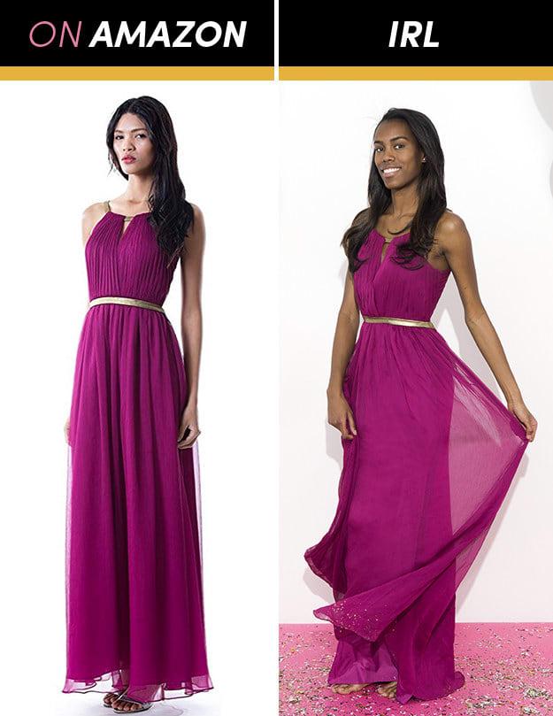 Những cô gái này đặt mua váy dạ hội giá chỉ vài trăm nghìn trên Amazon và kết quả bất ngờ-12