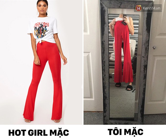 14 mốt thời trang đối nghịch khi hot girl mặc và khi mình mặc - Ảnh 3.