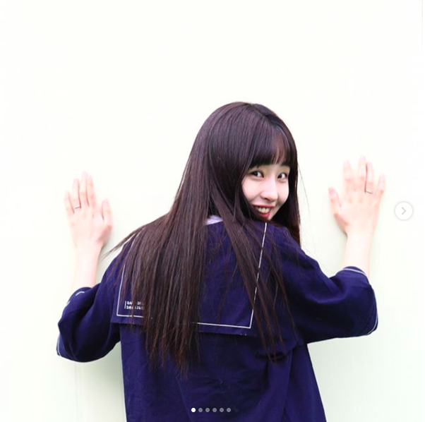 Để tóc Bok Joo, ảnh nào cũng cười híp hết cả mắt - ngắm cô bạn Hàn Quốc này thấy vui ghê! - Ảnh 7.