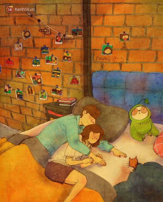 Cảm giác bình yên và ấm áp nhất: Được rúc vào vòng tay bạn trai ngủ quên cả thế giới! - Ảnh 9.