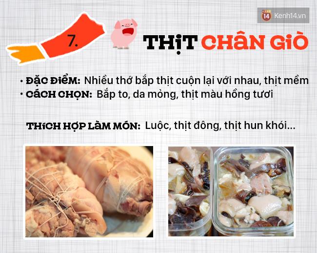 Ngày nào cũng ăn thịt lợn thì phải biết chọn đúng phần thịt cho từng món - Ảnh 8.