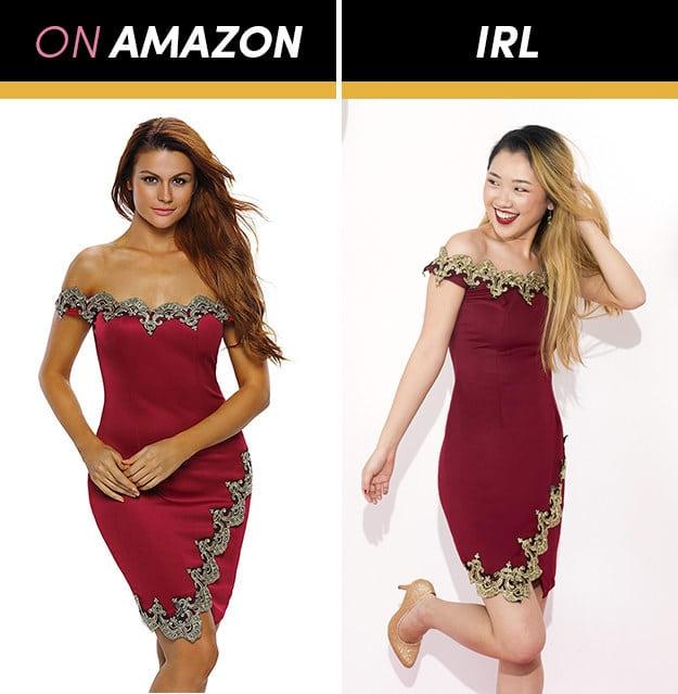 Những cô gái này đặt mua váy dạ hội giá chỉ vài trăm nghìn trên Amazon và kết quả bất ngờ-14