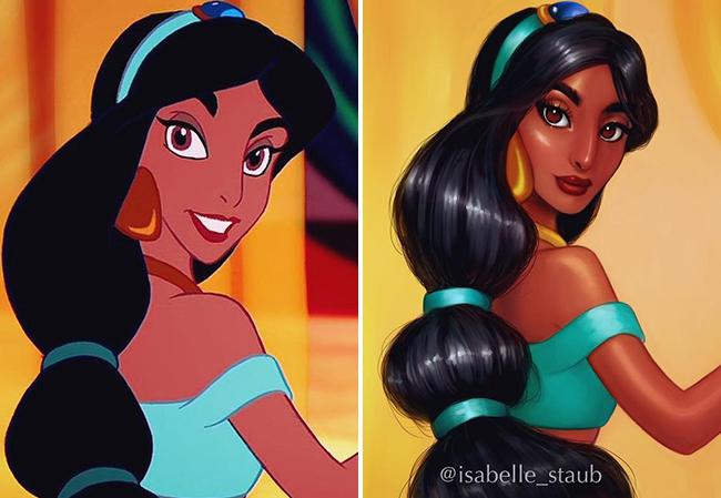 Không thể rời mắt khỏi các cô công chúa Disney sau khi đi phẫu thuật thẩm mỹ - Ảnh 13.