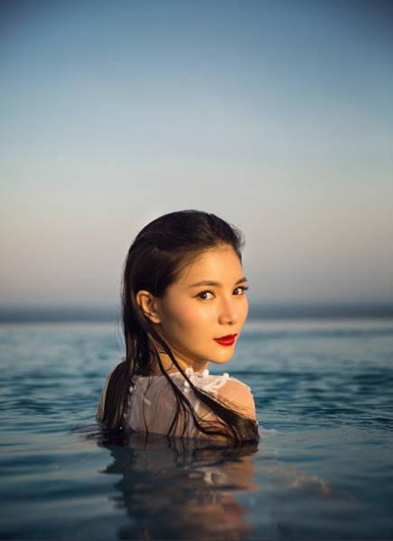 Bộ ảnh cưới tuyệt đẹp của nữ VĐV nhảy cầu xinh đẹp Trung Quốc - Ảnh 5.