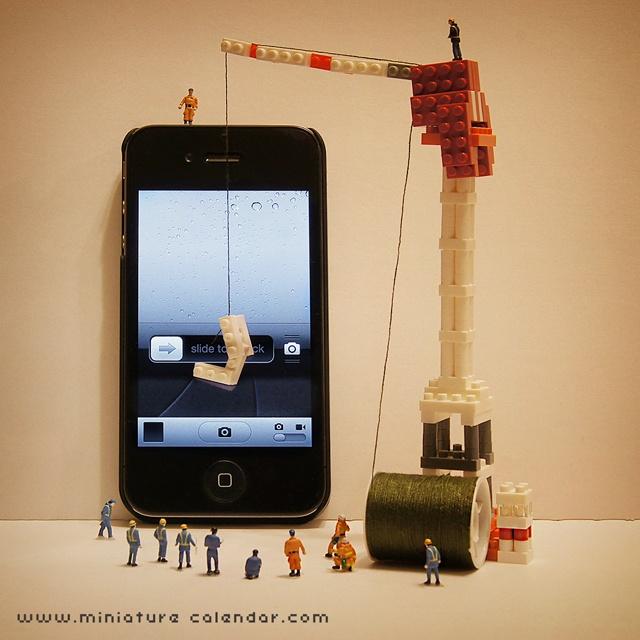 14 mô hình sắp đặt ấn tượng kết hợp từ smartphone - Ảnh 3.