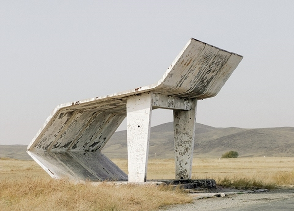 Chùm ảnh: Những trạm chờ xe buýt cực ấn tượng từ thời Liên Xô cũ - Ảnh 8.