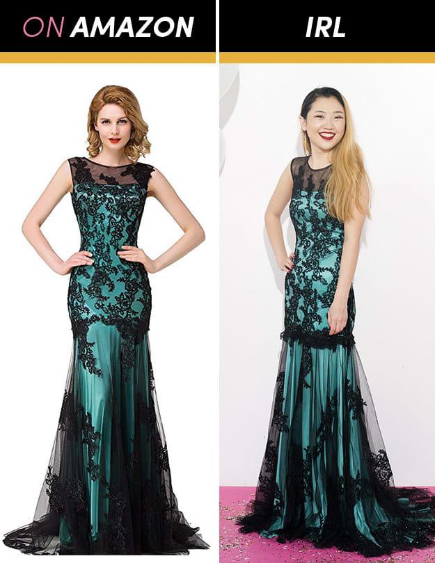 Những cô gái này đặt mua váy dạ hội giá chỉ vài trăm nghìn trên Amazon và kết quả bất ngờ-16