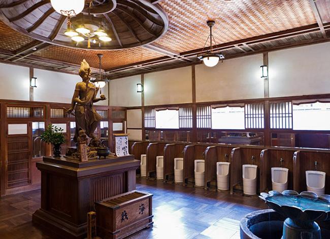 Ngắm nhìn 10 công trình nhà vệ sinh kì quặc nhất ở Nhật Bản - Ảnh 19.