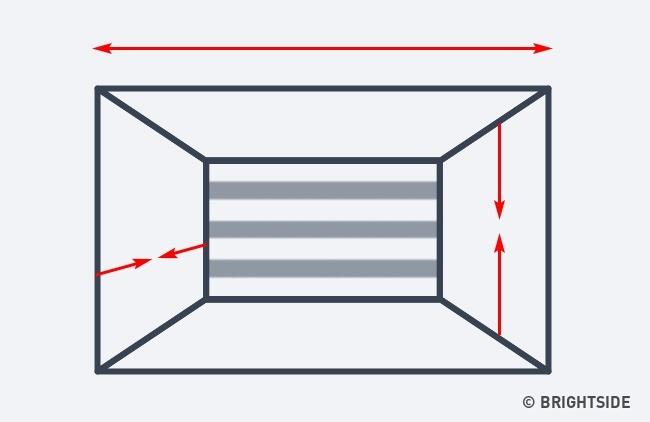 7 cách hô biến căn phòng của bạn trở nên rộng lớn hơn chỉ nhờ ảo ảnh thị giác - Ảnh 9.