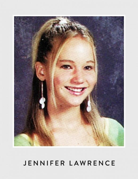 Jennifer Lawrence không khác mấy so với khi đã thành sao